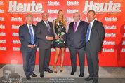 10 Jahre HEUTE - Rosengarten Belvedere - Do 04.09.2014 -  Josef P�HRLINGER, Erwin PR�LL, Michael H�UPL, Eva DICHAND. W98