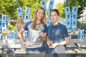 Vöslauer Glas Präsentation - Heuer am Karlsplatz - Fr 05.09.2014 - Maxi BLAHA, Franziska HACKL4