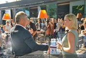 Vöslauer Glas Präsentation - Heuer am Karlsplatz - Fr 05.09.2014 - Johanna SETZER, Alfred HUDLER43