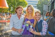 Vöslauer Glas Präsentation - Heuer am Karlsplatz - Fr 05.09.2014 - Diana LUEGER, TIBERIUS49