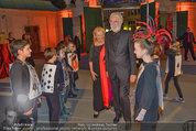 Bal au Belvedere - Belvedere - Sa 06.09.2014 - Michael HANEKE mit Ehfrau Susi16