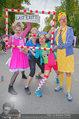 Rote Nasen Lauf - Prater Hauptallee - So 07.09.2014 - Claudia REITERER mit Clowns14