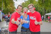 Rote Nasen Lauf - Prater Hauptallee - So 07.09.2014 - Christian OXONITSCH, Claudia REITERER, Hubert WOLF2