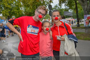 Rote Nasen Lauf - Prater Hauptallee - So 07.09.2014 - Familie Hubert WOLF mit Ehefrau Martha und Tochter Lila4