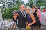 Pink Ribbon by Estee Lauder - Residenz der US-Botschaft - Mi 10.09.2014 - Christian P�TTLER, Uschi FELLNER102
