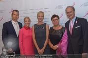 Pink Ribbon by Estee Lauder - Residenz der US-Botschaft - Mi 10.09.2014 - Alexa WESNER, Siegfried MAURER, Sabine OBERMOSER164