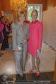 Pink Ribbon by Estee Lauder - Residenz der US-Botschaft - Mi 10.09.2014 - Ricarda REINISCH, Alexa WESNER45
