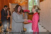 Pink Ribbon by Estee Lauder - Residenz der US-Botschaft - Mi 10.09.2014 - Eva STEINER, Alexa WESNER50