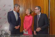 Pink Ribbon by Estee Lauder - Residenz der US-Botschaft - Mi 10.09.2014 - Siegfried MAURER, Alexa WESNER, Blaine WESNER60