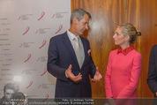 Pink Ribbon by Estee Lauder - Residenz der US-Botschaft - Mi 10.09.2014 - Siegfried MAURER, Alexa WESNER61