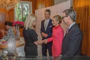 Pink Ribbon by Estee Lauder - Residenz der US-Botschaft - Mi 10.09.2014 - Siegfried MAURER, Alexa WESNER, Blaine WESNER62