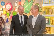 Re-Opening - KARE Einrichtungshaus - Do 11.09.2014 - Gery KESZLER mit Freund Andreas106