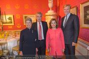Miro Retrospektive - Albertina - Do 11.09.2014 - Heinz und Margit FISCHER, Soraya S�enz DE SANTAMARIA,KA SCHR�D25