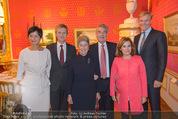 Miro Retrospektive - Albertina - Do 11.09.2014 - Heinz und Margit FISCHER, Soraya S�enz DE SANTAMARIA,KA SCHR�D28