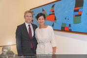 Miro Retrospektive - Albertina - Do 11.09.2014 - Josef OSTERMAYER mit Ehefrau Manuela3