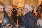 Miro Retrospektive - Albertina - Do 11.09.2014 - Heinz FISCHER, Arnulf RAINER30