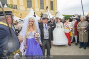 Lugner Hochzeit - Schloss Schönbrunn - Sa 13.09.2014 - Hochzeit Richard und Cathy LUGNER (Schmitz)105