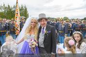 Lugner Hochzeit - Schloss Schönbrunn - Sa 13.09.2014 - Hochzeit Richard und Cathy LUGNER (Schmitz)106