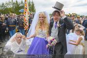 Lugner Hochzeit - Schloss Schönbrunn - Sa 13.09.2014 - Hochzeit Richard und Cathy LUGNER (Schmitz)107