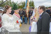 Lugner Hochzeit - Schloss Schönbrunn - Sa 13.09.2014 - Hochzeit Richard und Cathy LUGNER (Schmitz)110