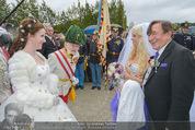 Lugner Hochzeit - Schloss Schönbrunn - Sa 13.09.2014 - Hochzeit Richard und Cathy LUGNER (Schmitz)111