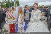 Lugner Hochzeit - Schloss Schönbrunn - Sa 13.09.2014 - Hochzeit Richard und Cathy LUGNER (Schmitz)113