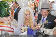 Lugner Hochzeit - Schloss Schönbrunn - Sa 13.09.2014 - Hochzeit Richard und Cathy LUGNER (Schmitz)119