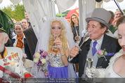 Lugner Hochzeit - Schloss Schönbrunn - Sa 13.09.2014 - Hochzeit Richard und Cathy LUGNER (Schmitz)120