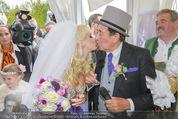 Lugner Hochzeit - Schloss Schönbrunn - Sa 13.09.2014 - Hochzeit Richard und Cathy LUGNER (Schmitz)121