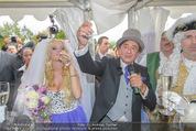 Lugner Hochzeit - Schloss Schönbrunn - Sa 13.09.2014 - Hochzeit Richard und Cathy LUGNER (Schmitz)122
