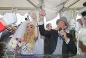 Lugner Hochzeit - Schloss Schönbrunn - Sa 13.09.2014 - Hochzeit Richard und Cathy LUGNER (Schmitz)123