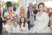 Lugner Hochzeit - Schloss Schönbrunn - Sa 13.09.2014 - Hochzeit Richard und Cathy LUGNER (Schmitz)125