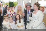 Lugner Hochzeit - Schloss Schönbrunn - Sa 13.09.2014 - Hochzeit Richard und Cathy LUGNER (Schmitz)129