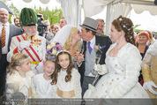 Lugner Hochzeit - Schloss Schönbrunn - Sa 13.09.2014 - Hochzeit Richard und Cathy LUGNER (Schmitz)130