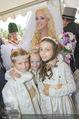 Lugner Hochzeit - Schloss Schönbrunn - Sa 13.09.2014 - Cathy SCHMITZ LUGNER mit Blumenkinder (u.a. Leonie und Sofia)135
