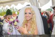 Lugner Hochzeit - Schloss Schönbrunn - Sa 13.09.2014 - Cathy SCHMITZ LUGNER136