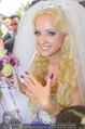 Lugner Hochzeit - Schloss Schönbrunn - Sa 13.09.2014 - Cathy SCHMITZ LUGNER137