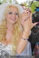 Lugner Hochzeit - Schloss Schönbrunn - Sa 13.09.2014 - Cathy SCHMITZ LUGNER138