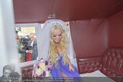 Lugner Hochzeit - Schloss Schönbrunn - Sa 13.09.2014 - Cathy SCHMITZ LUGNER140