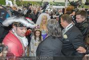 Lugner Hochzeit - Schloss Schönbrunn - Sa 13.09.2014 - Medienrummel bei Hochzeit LUGNERS14
