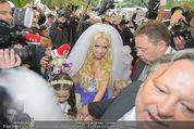 Lugner Hochzeit - Schloss Schönbrunn - Sa 13.09.2014 - Hochzeit Richard und Cathy LUGNER (Schmitz)15