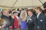 Lugner Hochzeit - Schloss Schönbrunn - Sa 13.09.2014 - Hochzeit Richard und Cathy LUGNER (Schmitz)18