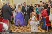 Lugner Hochzeit - Schloss Schönbrunn - Sa 13.09.2014 - Hochzeit Richard und Cathy LUGNER (Schmitz)21