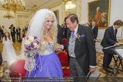 Lugner Hochzeit - Schloss Schönbrunn - Sa 13.09.2014 - Hochzeit Richard und Cathy LUGNER (Schmitz)23