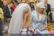 Lugner Hochzeit - Schloss Schönbrunn - Sa 13.09.2014 - Cathy SCHMITZ LUGNER24