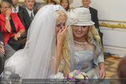 Lugner Hochzeit - Schloss Schönbrunn - Sa 13.09.2014 - Cathy SCHMITZ LUGNER25