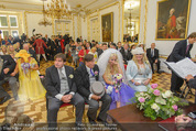 Lugner Hochzeit - Schloss Schönbrunn - Sa 13.09.2014 - Hochzeit Richard und Cathy LUGNER (Schmitz)26