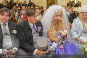 Lugner Hochzeit - Schloss Schönbrunn - Sa 13.09.2014 - Hochzeit Richard und Cathy LUGNER (Schmitz)28