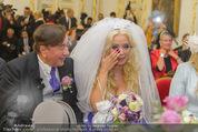 Lugner Hochzeit - Schloss Schönbrunn - Sa 13.09.2014 - Hochzeit Richard und Cathy LUGNER (Schmitz)30