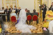 Lugner Hochzeit - Schloss Schönbrunn - Sa 13.09.2014 - Hochzeit Richard und Cathy LUGNER (Schmitz)32